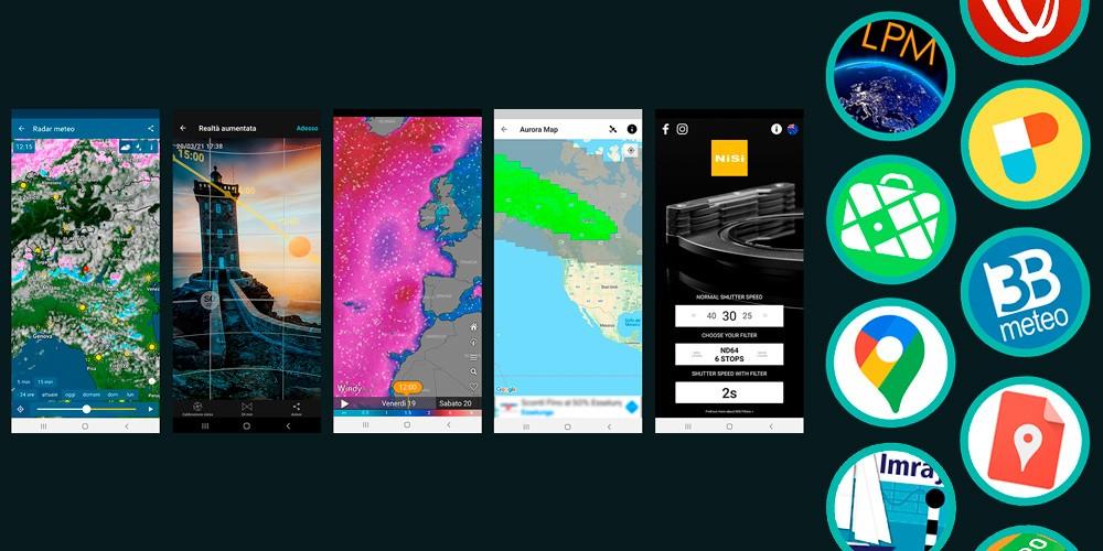 Le 15 migliori app per il tuo viaggio fotografico