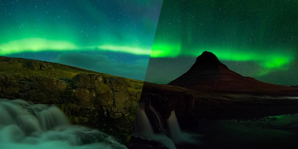 Fotografare l'aurora boreale: meglio con o senza luna?