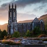 Dunlewey Church al tramonto