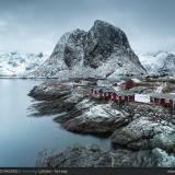 Hamony in inverno, Lofoten - Norvegia.