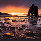 Hvitserkur Islanda