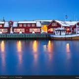 Il porto di Svolvaer.