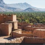 Kasbah di Tamnougalt, Marocco.
