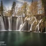 Fotografia dei laghi di Plitvice in Croazia