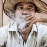 Laos - Ritratto di un locale nel paese di Muang Khua.