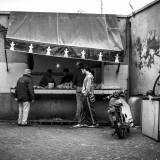 Marocco - Souk del pollame nella medina di Marrakech.