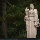 Monumenti nel cimitero Americano