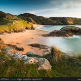 Murder Hole Beach al tramonto