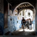 Scene di vita nei vicoli della Medina di Tetouan.