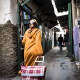 Scene di vita in medina a Tetouan, Marocco.