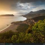 Tramonto sulla costa di scalea