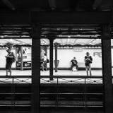 Ungheria - Persone in attesa alla stazione di Opera, sull'iconica Metropolitana del Millennio, la più antica del continente Europeo.