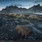 Vestrahorn e rocce