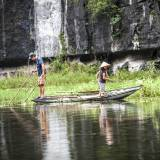 Vietnam - Pescatori a Tam Coc.
