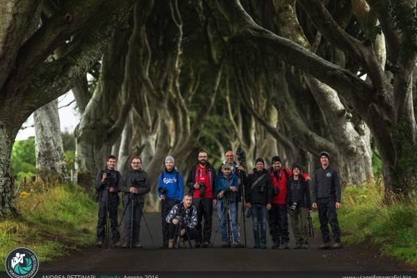 Foto e video dei nostri viaggi fotografici in Irlanda.