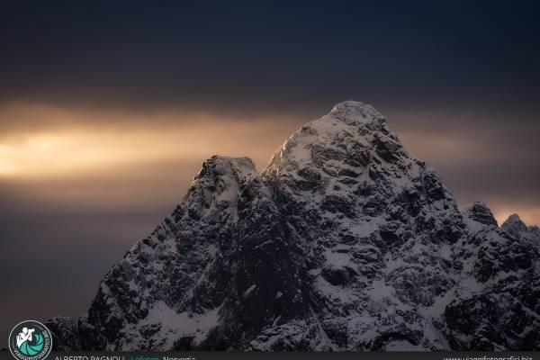 Luce del nord, Lofoten.
