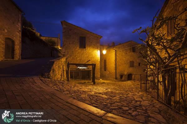 Fotografie del borgo di Castiglione d'Orcia, Toscana