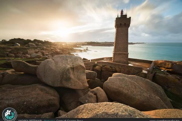 Faro di Ploumanac'h, Bretagna (Francia)