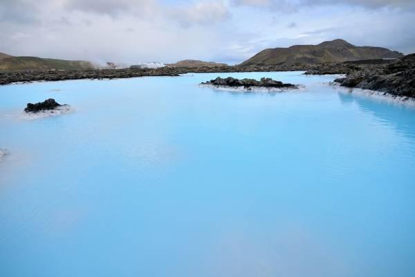 Blue Lagoon, l'area geotermale con piscina calda, tra le mete turistiche più visitate