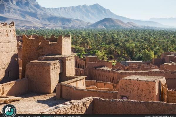 Castello di Ksar Tamnougalt, Marocco