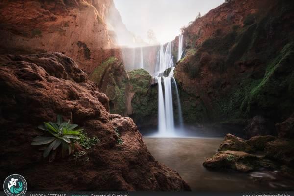 Fotografie delle Cascate di Ouzoud in Marocco