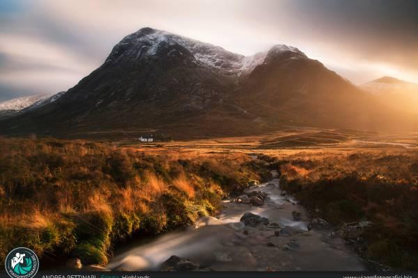 Fotografie scattate nelle Highlands Scozzesi