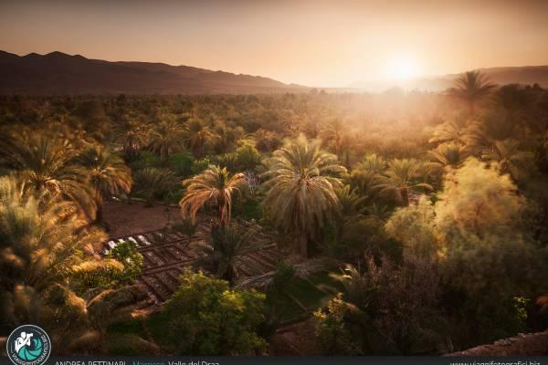 Valle del Draa in Marocco