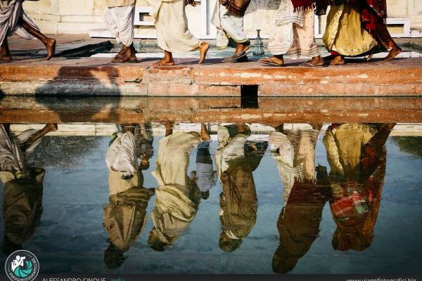 Fotografie di Agra, famosa per le sue architetture