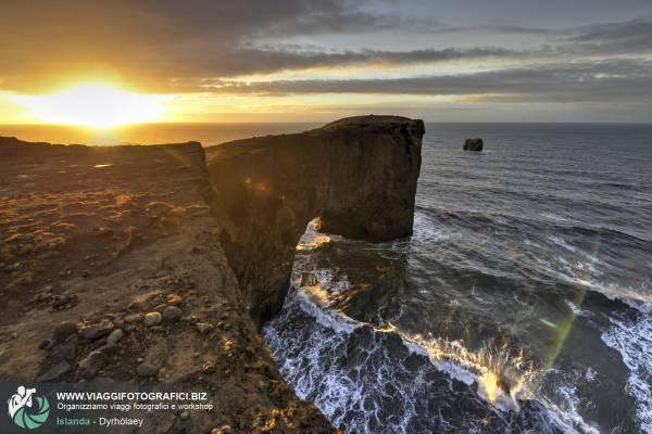 Dyrhólaey: il promontorio con bellissime scogliere ed il suo celebre arco naturale