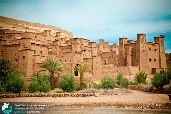 Ouarzazate in Marocco