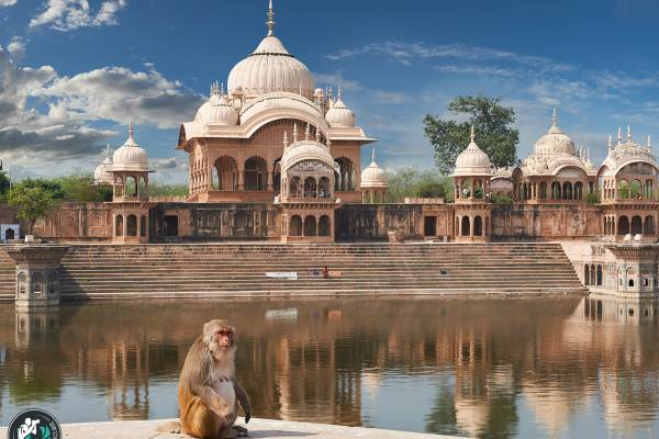 Mathura, città sacra dell'India settentrionale