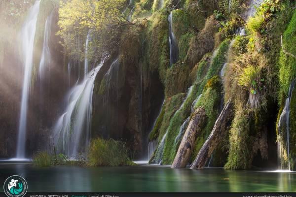 Workshop fotografico nel parco dei laghi di Plitvice, Croazia.