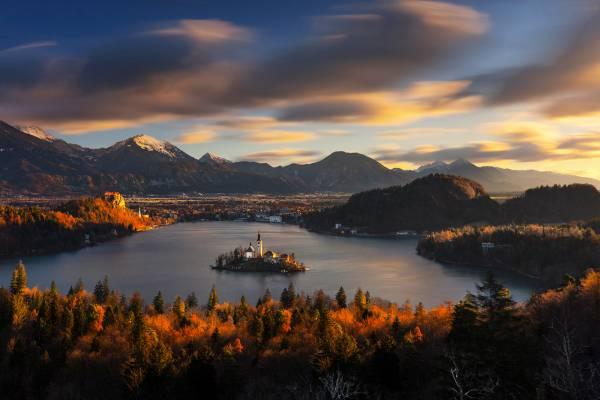 Lago di Bled e le perle della Slovenia.