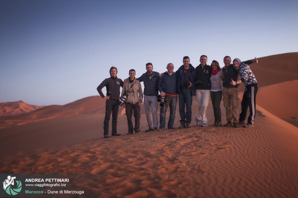 Foto di gruppo viaggio fotografico in marocco