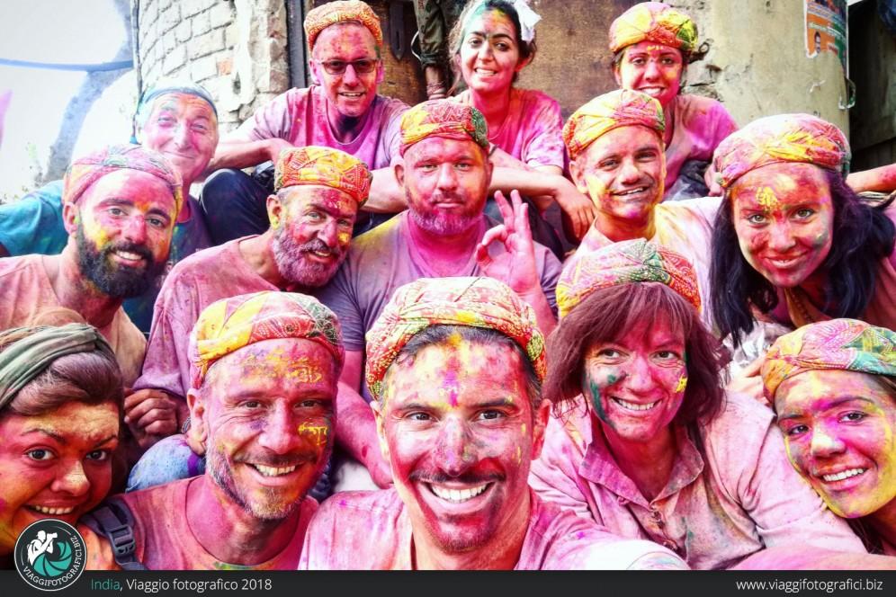 foto di gruppo viaggio fotografico india
