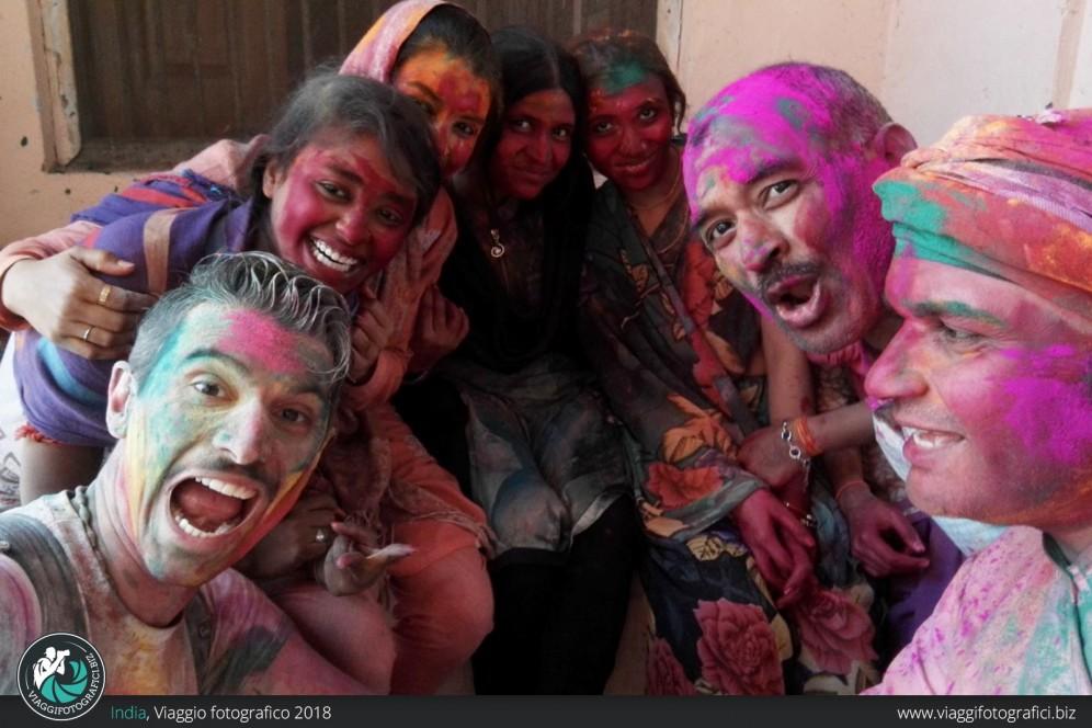 Backstage viaggio fotografico india e holi festival