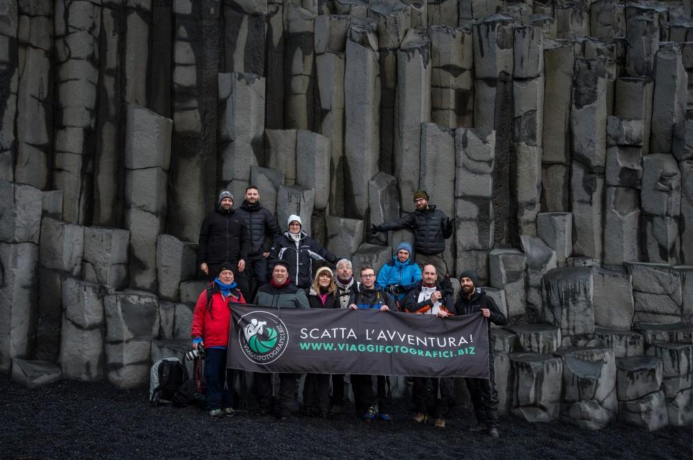 Foto di gruppo viaggio islanda