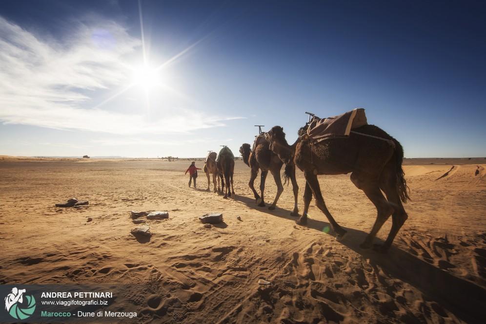 Viaggio fotografico nel deserto di merzouga