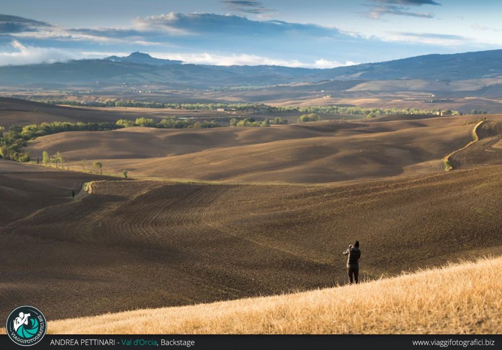fotografando tra le colline