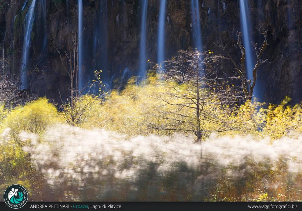 Vento e acqua ai Laghi di Plitvice