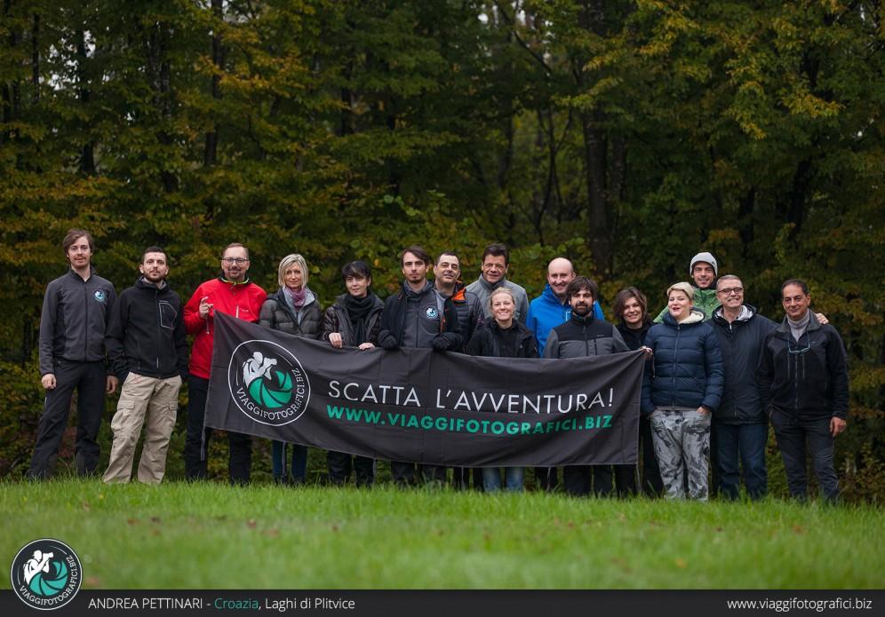 Gruppo 2016 ai Laghi di Plitvice