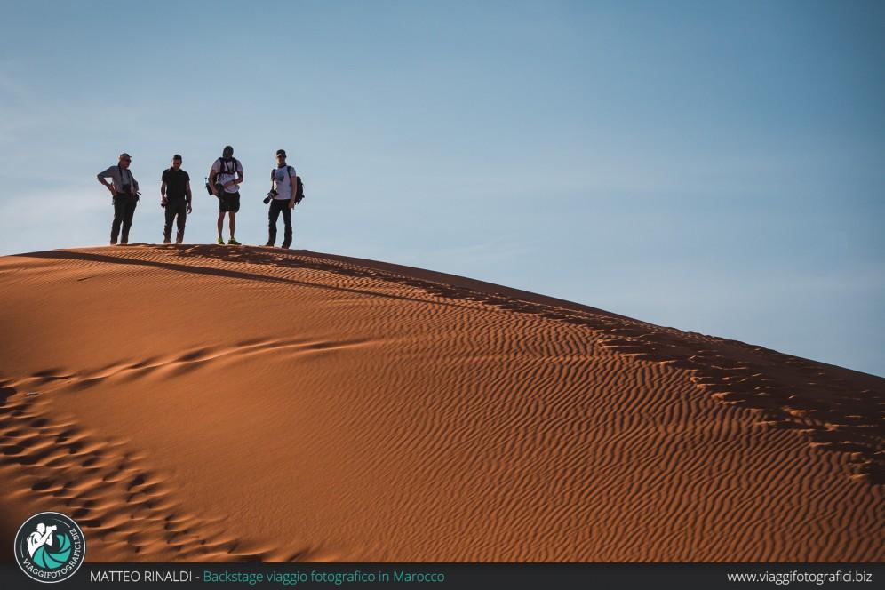 In cima alla duna