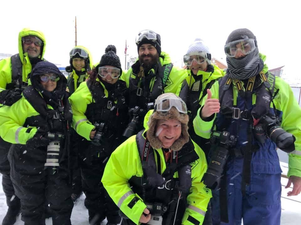 Escursione aquile di mare in norvegia
