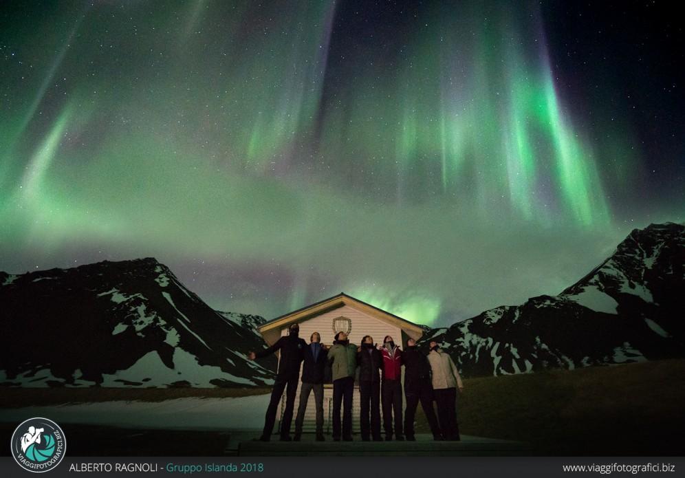 Foto di gruppo Islanda marzo 2018