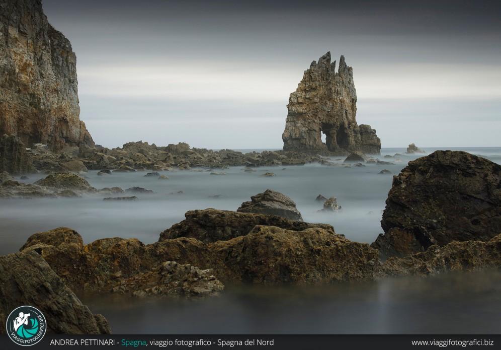 Rocce a bassa marea