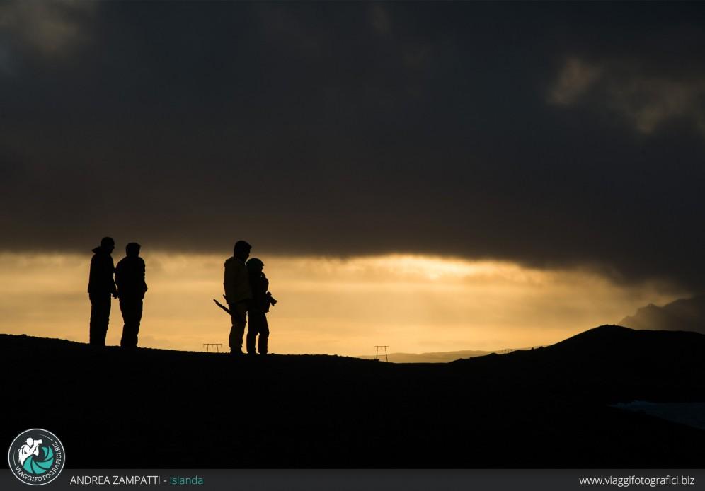 Tramonti islandesi