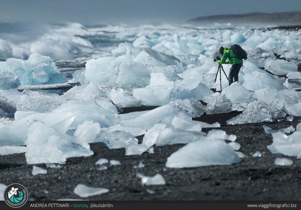 Fotografando tra i ghiacci
