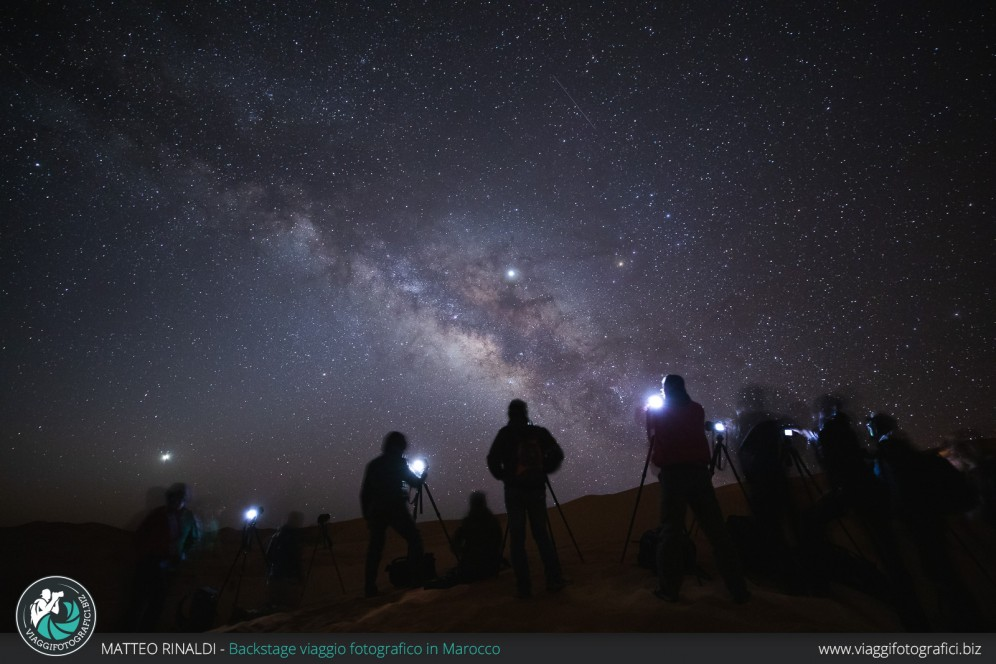 Notturna nel deserto