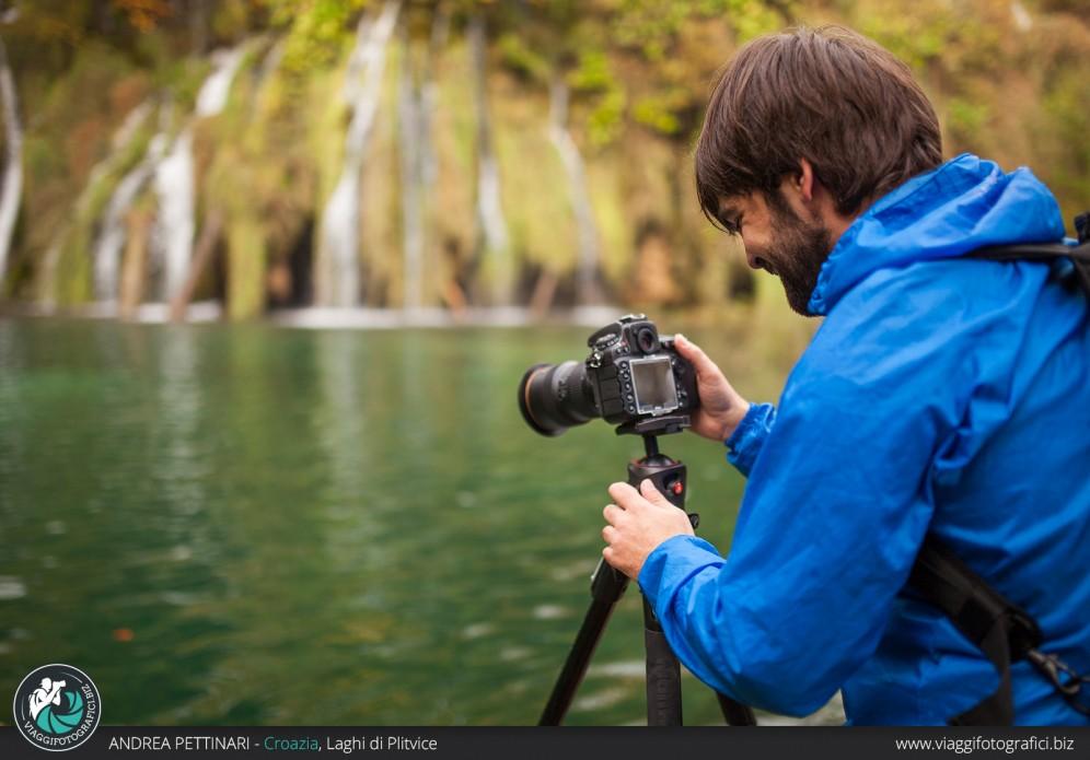 Scattando ai  Laghi di Plitvice