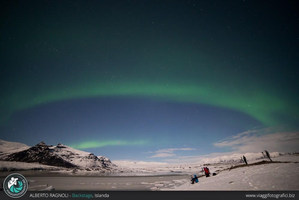 Aurra boreale islanda